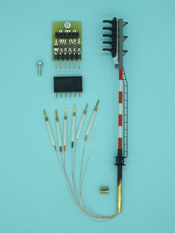 Sygnalizatory wysokie H0 z nowym mocowaniem