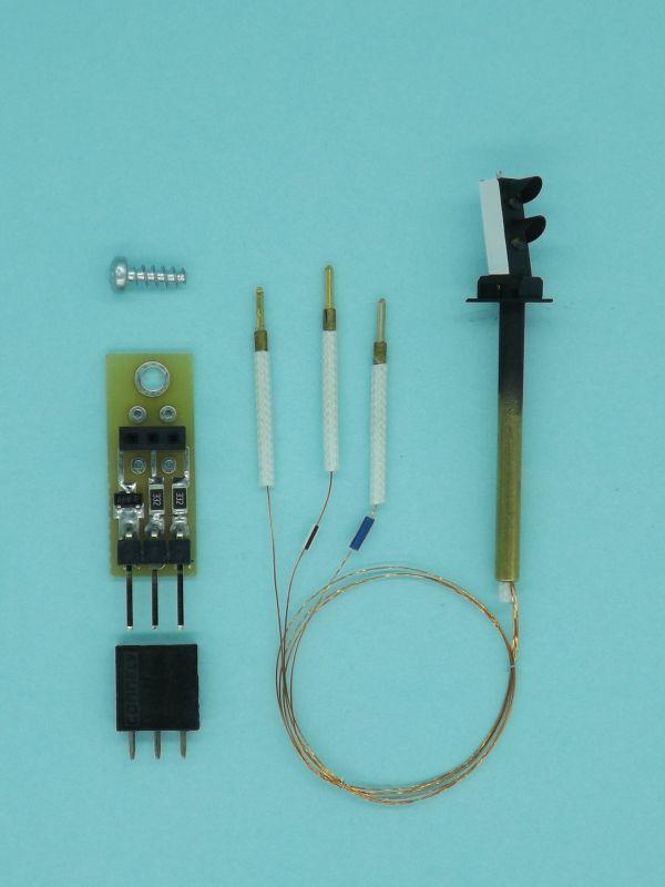 Sygnalizatory karzełkowe H0 z nowym mocowaniem